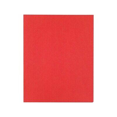 Staples School Grade 2 Pocket Folder Red 25box 578484