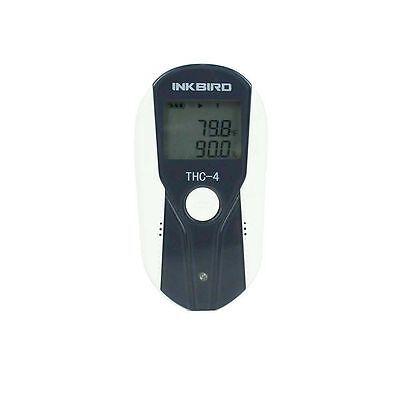 Lcd Display Usb Temperature Humidity Data Logger Recorder External Inkbird Thc-4