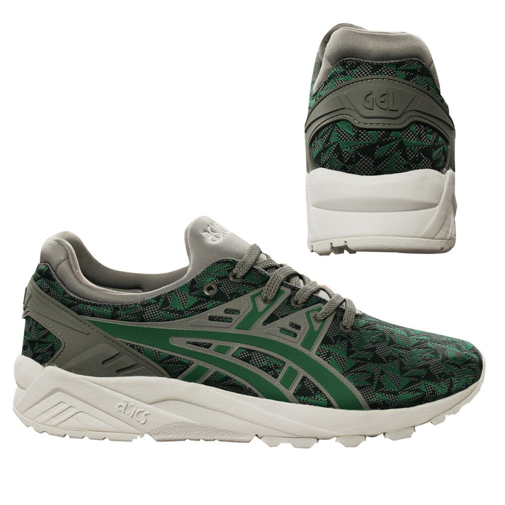 Asics Gel-Kayano Evo Mens Lace Up Trainers Casual Shoes Olive H707N 8686 M16