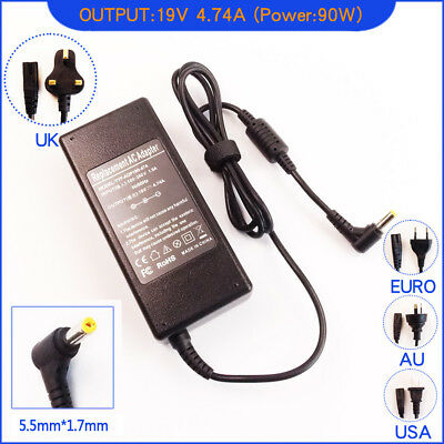 AC Power Adapter Charger for Packard Bell EasyNote TSX66-HR-2544G50WNS Laptop