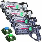 Light Battle Active Camo Laserguns - 4 Pack + 2 Targets