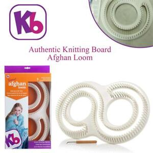 NEW Authentic Knitting Board Afghan Loom Condtion: New