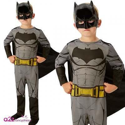 Batman V Superman Batman Classic Kinder Lizenzierte Kostüm Größen 3-8 Yrs
