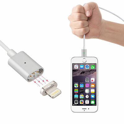 Magnetic Lightning Magna Charging Adapter Data Link For Apple Iphone 5 6S 7 Se