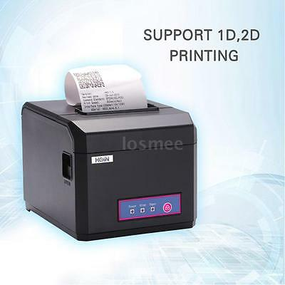 Hoin Usb Port 80mm 58mm Pos Dot Receipt Barcode Thermal Printer 300mmsecond