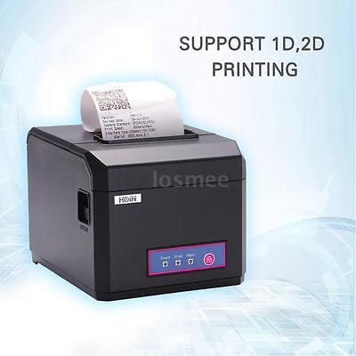 Hoin Usb Port 80mm 58mm Pos Dot Receipt Barcode Thermal Printer 300mmsecond