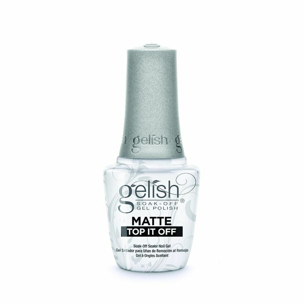 Harmony Gelish Gel Polish MATTE Top Coat 15mL