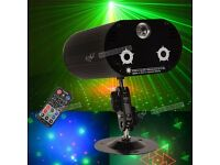 3 Lens 36 Pattern LED DJ Disco RGB Club Laser Stage Show Projector Lamp Lighting