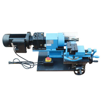 1.5 Hp Electric Tube Pipe Notcher 12 To 2 End Mill V-block Rotary Vise 280 Rpm