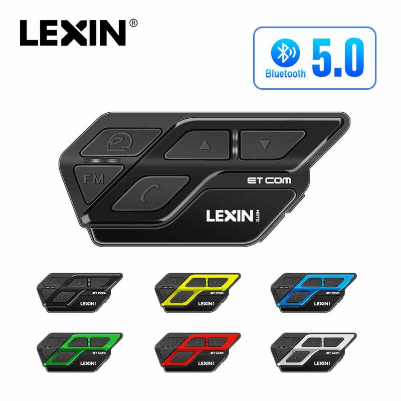 LEXIN ETCOM Motorcycle intercomBluetooth Helmet Headset FM 6 Color Noise Cancel