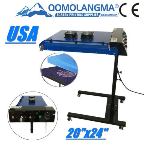"US Stock 220V 20"" x 24"" INFRARED FAST FLASH Silk Screen Printing Dryer"