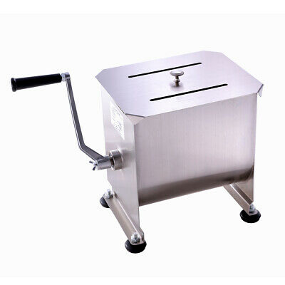 New Hakka 20 Pound10 Liter Commercial Meat Mixer Stainless Steel Manual Machine