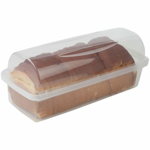 Home-X Transparent Plastic Bread Box