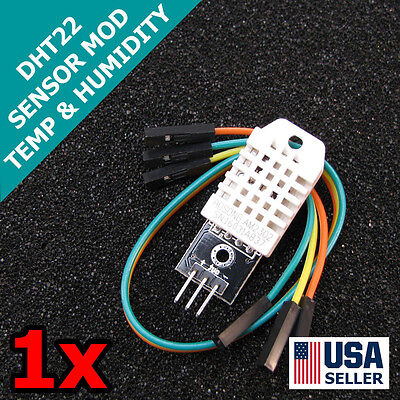 Dht22 Digital Temperature Humidity Sensor Am2302 Module Pcb Cable Arduino Q32