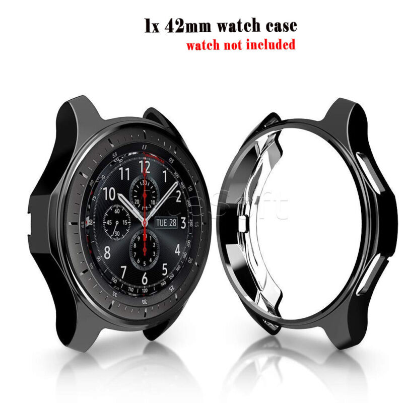 For Samsung Gear S2 Classic Accessories TPU Plating Protection Case Cover