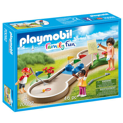 Playmobil Family Fun Mini Golf Playset - 70092