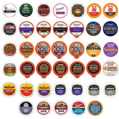 BOLD & DARK ROAST COFFEE For Keurig K Cup Variety Pack Sampler, 40 Count