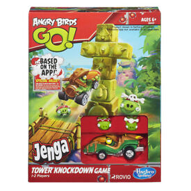 Angry Birds Jeng Go Tower Knockdown Game