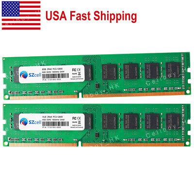 V7 V7K1280016GBD-LV 16GB DDR3 PC3L/_12800 1600MHZ DIMM Desktop Memory Module