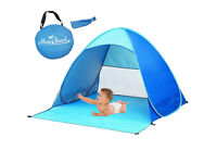 Automatic Pop Up Beach Tent Instant Portable Quick Cabana Sun Shelter