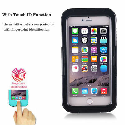 For iPhone 7 8 6S Plus Waterproof Shockproof Dirt Snow Proof TPU Hard Case Cover