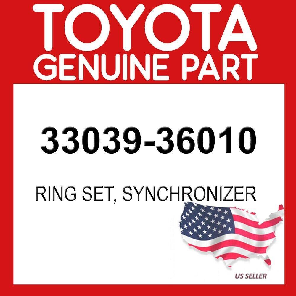 SYNCHRONIZER TOYOTA GENUINE 3303828010 RING SET NO.2 33038-28010