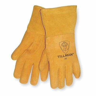 Genuine Tillman 35 Deerskinwelding Gloves Med Lg Xl Foam Lined Back