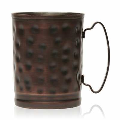 WORLD TABLEWARE MM-200 MOSCOW MULE MUG 14OZ. HAMMERED FINISH COPPER  (12 pack)