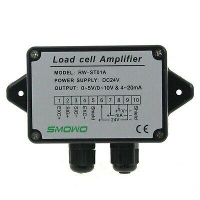 0-5v10v 4-20ma Load Cell Sensor Amplifier Transmitter Strain Gauge Transducer