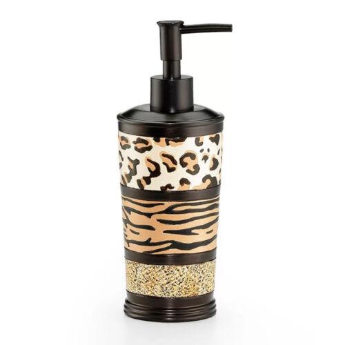 Popular Bath Gazelle Animal Print Bathroom Lotion Soap Dispenser Bath