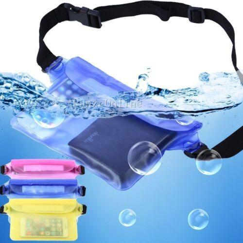 Waterproof Underwater Waist Bag Fanny Pack Swimming Beach Dr