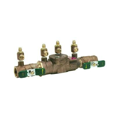 Reduced Pressure Zone Assembly - Watts 3/4 in. Brass FPT x FPT Reduced-Pressure Zone Assembly 009M3QT
