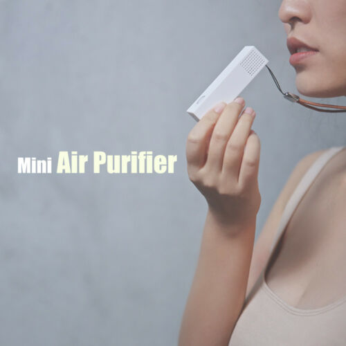 Wearable Air Purifier Ionizer Refresher Cleaner Negative Ion Generator Anion New