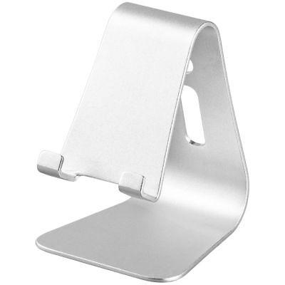 Desktop Halter / Ständer für Handy Smartphone Tablet – Aluminium – Kabelführung