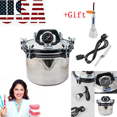 8lstainless Steel Dental High-pressure Steam Sterilizer Disinfector Machinegift