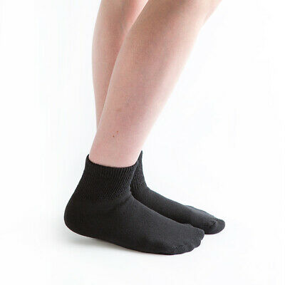 Doc Ortho Loose Fit Diabetic Socks, 3 Pairs, 1/4 Crew