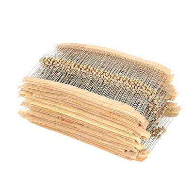 1500pcs 75 Values 1 Ohm 10m Ohm 14w Carbon Film Resistors Assortment Kit E6w5