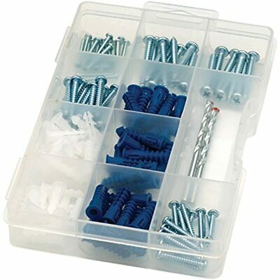 ARROW 160455 Drywall Drill Bit, Screw And Anchor Kit Home Improvement