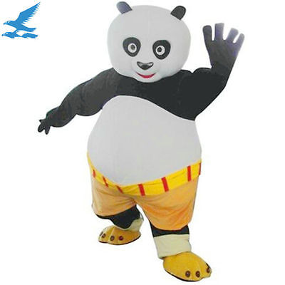 bran-new Popular Kung Fu Panda Mascot Costume Fancy Dress Outfit Adult