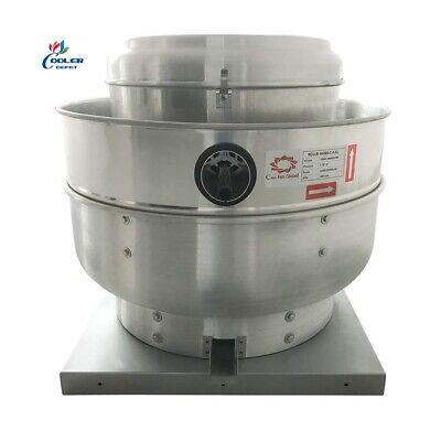 New Commercial Kitchen Exhaust Fan 1.5 Hp Cfm 4200 Restaurant Equipment Nsf