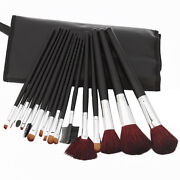 Makeup Brush Set Natural Hair