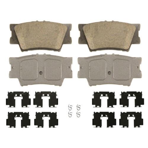 Rear Disc Brake Pad-Ceramic Fits Toyota Camry Avalon Matrix RAV4
