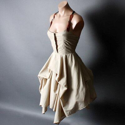 Western Costume Steampunk Victorian Suspender Gothic Dress S M L XL 2XL 3XL - Steampunk Dresses