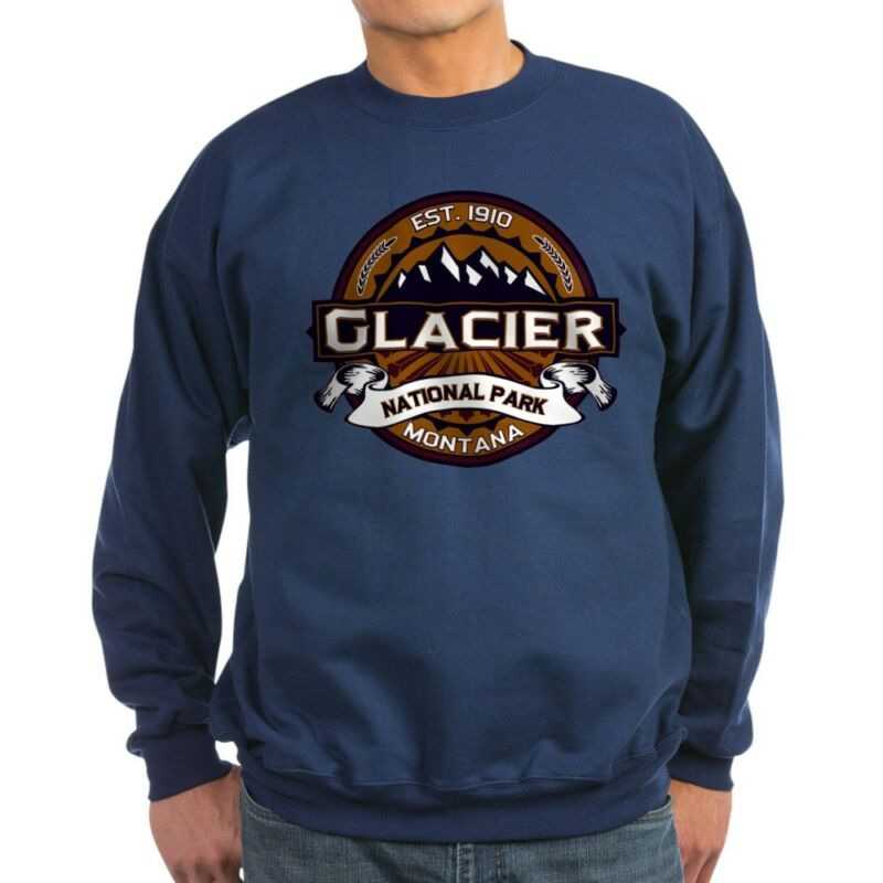 CafePress Glacier Vibrant Classic Crew Neck Sweatshirt (2020294117)