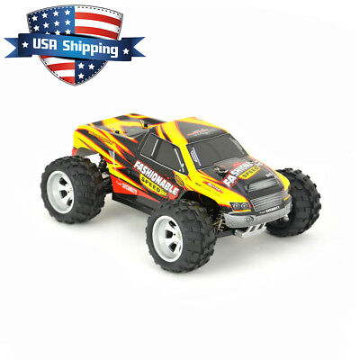 Wltoys A979 A 2 4G 4Wd 1 18 Scale Remote Control Rc Monster Truck Car Rtr