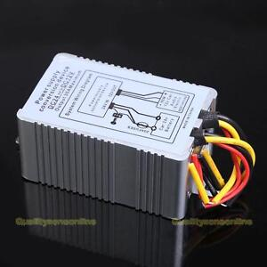 #QZO 24V to 12V DC-DC Car Power Supply Inverter Converter Conversion Device 30A