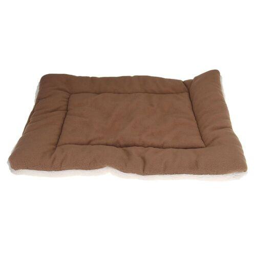 Tappeto in cuscino letto addormentato tessuto di velluto per cane gatto Pet Y0S1
