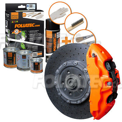 FOLIATEC Bremssattellack Neon Orange Bremssattelfarbe Bremssattel 2183