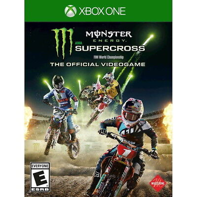Monster Energy Supercross: The Official Videogame Xbox One [Factory Refurbished]