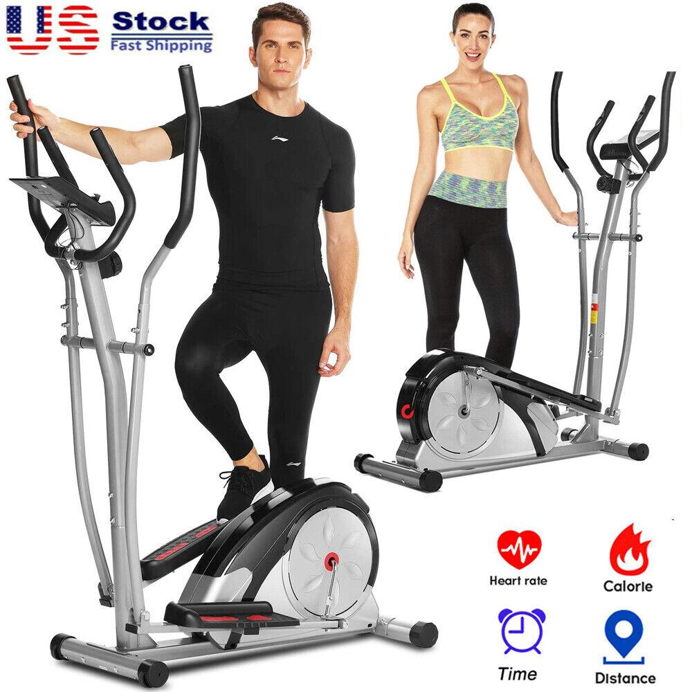 Elliptical Exercise Machine Fitness Trainer Cardio Home Gym